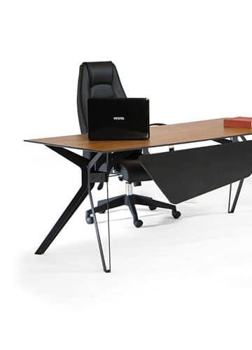 Metall Schreibtisch bein